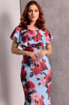 @roressclothes clothing ideas #women fashion floral dress