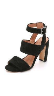 cebc41392f9b59 Matiko Octavia Suede Cutout Sandals