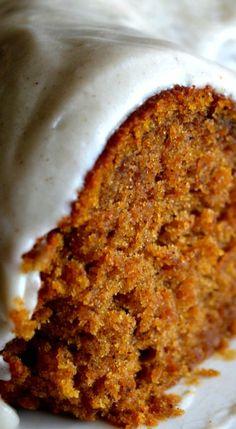 Pumpkin Spice Buttermilk Cake.