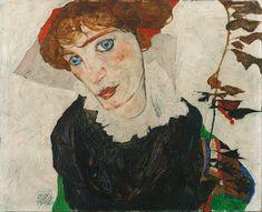 Egon Schiele - Portrait of Wally Neuzil