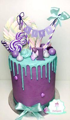 Purple Drip Cake | Freak Cake Trend | Pretty My Party