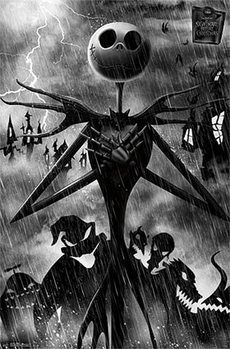 Ukradené Vánoce Tima Burtona - Shadow plakát, obraz