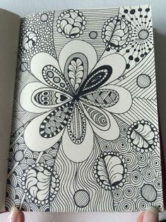 Absolutely Beautiful Zentangle patterns For Many Use Doodles Zentangles, Zentangle Drawings, Zentangle Patterns, Art Drawings, Quilting Patterns, Zen Doodle Patterns, Doodling Art, Quilt Pattern, Mandala Art
