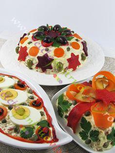 O reteta de salata de boeuf cu carne si maioneza de casa prezentata in 3 variante extrem de aspectuoase care vor impresiona pe oricine!