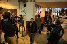 3xScreen Production Vans Shop Riot Finals Leeds 2013, Event Live Streaming, Event Live Uplinks, Event Live Production