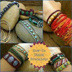 How to Stack Bracelets - Blog