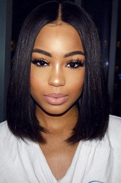 Black Lace Frontal Straight Wigs Straight Lace Front Wigs Baby Hair – Shebelt mall