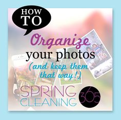 For the next week, we will focus on organizing digital photos! If you've been following along with us, then you know we usually take a couple of days each month to maintain our digital photos. However, this is going to be a more thorough tutorial. Keep in mind that if you have YEARS of digital […]