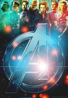 The Avengers!! Scarlett is BEAUTIFUL