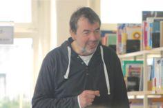 Der Autor Boris Pfeiffer zu Gast in der Stadtbücherei Ahrensburg. Foto:Stadtbücherei Ahrensburg
