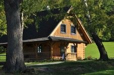 Roubenka Home Fashion, Cabin, House Styles, Home Decor, Homemade Home Decor, Cabins, Cottage, Decoration Home, Cubicle