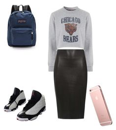 """""""Untitled #409"""" by gurueowa-ir ❤ liked on Polyvore featuring beauté, Tee and Cake, NIKE, Dorothy Perkins et JanSport"""