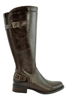Jaden Super Plus Wide Calf® Boot (Brown) - Super Plus Wide Calf® Boots