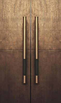 The best Door Pulls to enrich your modern designs. - The best Door Pulls to enrich your modern designs. Wardrobe Handles, Wardrobe Doors, Porte Design, Joinery Details, Front Door Design, Furniture Handles, Bronze, Wardrobe Design, Door Pulls