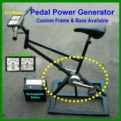 1000+ images about Pedal Power Generator on Pinterest ...