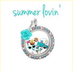 Summer lovin locket
