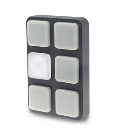 B-Station. Wall-mount button panel for remote controlling CueCore, CueluxPro, and third-party equipment. Light Architecture, Third Party, Wall Mount, Remote, Hardware, Button, Lighting, Simple, Computer Hardware
