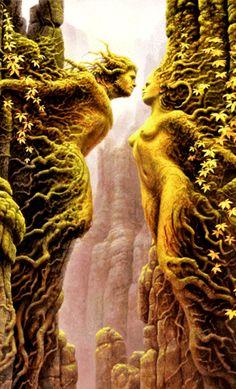 art surrealista Pin que criativida - art Photo Composition, Goddess Art, Visionary Art, Photo Effects, Psychedelic Art, Surreal Art, Tree Art, Photo Manipulation, Fantasy Art