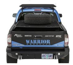 Warrior Diamond Plate Lower Tailgate Cover for 2005+