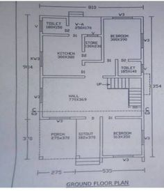 4 Bedroom Home for 35 Lakhs with for 5 Cent Plot with Free Plan - Free Kerala Home Plans 10 Marla House Plan, 2bhk House Plan, Free House Plans, Small House Floor Plans, Simple House Plans, Model House Plan, House Layout Plans, Duplex House Plans, Bungalow House Plans