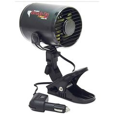 Cool off on the road with the lightweight RoadPro 12-Volt Tornado Fan. The fan can be placed anywhere you can use the mounting clip. Just plug it into your car's lighter socket, and enjoy the continuous cool breeze for the rest of your trip.