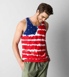 Shop Men's American Eagle Outfitters Red Blue size XL Tank Tops at a discounted price at Poshmark. Description: Awesome flag tie dye tank from American Eagle Outfitters. Like new. Shape Of Your Body, 4th Of July Outfits, American Eagle Men, Mens Outfitters, American Eagle Outfitters Tops, Lounge Wear, Red And Blue, Tank Man, Tie Dye