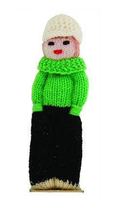 1960 -poupée en maille, collection privée © Solo-Mâtine