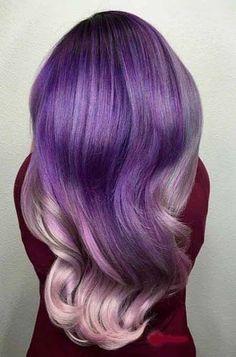 24 Inspiring Purple Hair Color Ideas 2018