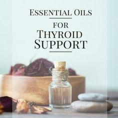 Essential oils for thyroid support - Essential oils help keep the body in homeostasis and work towards restoring and maintaining balance. Hashimoto Thyroid Disease, Thyroid Diet, Thyroid Health, Autoimmune Disease, Thyroid Hormone, Essential Oils For Thyroid, Essential Oil Uses, Doterra Essential Oils, Young Living Oils