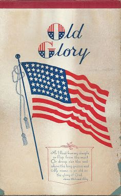 Sweet Magnolias Farm: Free Printables ~ Patriotic ~ 4th of July ~ Independence Day ~ American Flag ~ Old Glory ~ Antique Clip Art ~ Ephemera