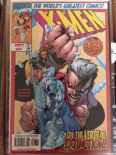 X-men #67 Marvel Comics On the Verge of Extinction Comic book