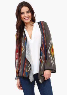Necessary Clothing- Phoenix wrap cardi