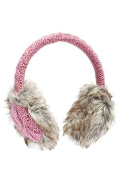 Nirvanna Designs Cable Knit Earmuffs | Nordstrom