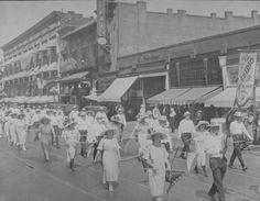 Native Daughter's of the Golden West Parade, San Jose, CA 1918 (John C. Gordon Photographic Collection)