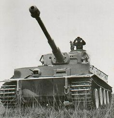 A German Tank Commander Surveying The Field Atop His Tiger I Heavy Russia Mar 1943