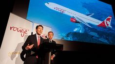 Air Canada's new low-cost service, Rouge, to begin flying in July