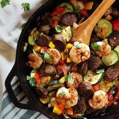 20-minute paleo skillet meal