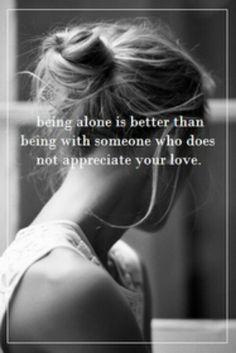 Unappreciated love