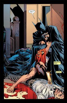 Batman and Robin.    Orphans.
