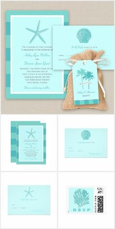 Shoreline Chic Wedding | Aqua