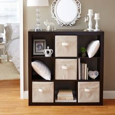 Better Homes and Gardens 9 Cube Storage Organizer, Multiple Colors Image 2 of 5 Living Room Storage, Living Room Decor, Living Spaces, Living Rooms, Bedroom Storage, Apartment Living, Bedroom Decor, Cubby Storage, Storage Cubes