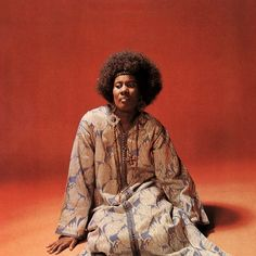 Alice Coltrane : Cover photograph from one of the greatest albums of all time. Journey in Satchidananda