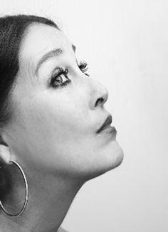Verónica Forqué, actriz española.