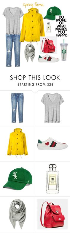 A fashion look from March 2018 featuring gap t shirts, hooded coat and blue ripped jeans. Browse and shop related looks. Jo Malone, Polyvore Outfits, Gucci, Shoe Bag, Spring, Collection, Design, Women, Fashion