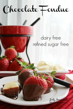 Dairy free chocolate fondue recipes easy