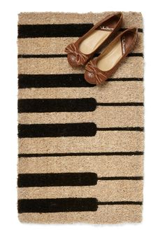 Keys to the Kingdom Doormat   Mod Retro Vintage Decor Accessories   ModCloth.com