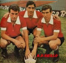 1966 Raul Bernao, Raul Savoy y Anibal Tarabini - Club Atletico Independiente de Avellaneda