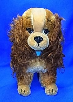 Vintage German Steiff or Schuco Stuffed Animal Lady and the Tramp Susi Dog