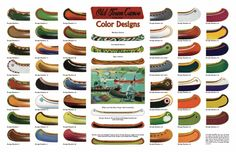 Old Town Color Designs Poster - $10 https://store.wcha.org/Old-Town-Color-Designs-Poster.html