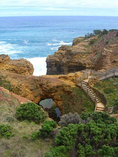 The Grotto, Port Campbell National Park, Australia (by pellethepoet) Brisbane, Melbourne, Perth, Best Places To Travel, Places To See, World Pictures, Adventure Is Out There, Australia Travel, Vacation Spots